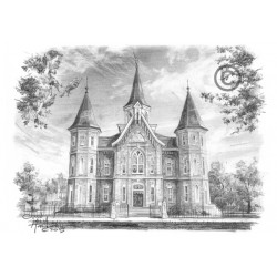Provo City Center Temple - Drawing