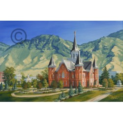 Provo City Center Temple - Painting