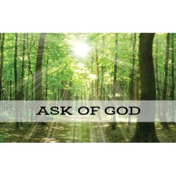 Ask of God (2017 Youth Theme) Recommend Holder