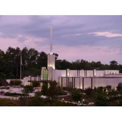Atlanta Georgia Temple Recommend Holder