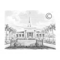 Apia Samoa Temple Recommend Holder