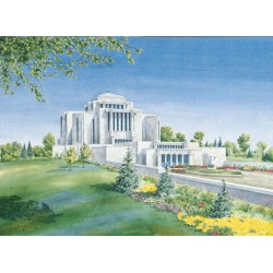 Cardston Alberta Temple Painting
