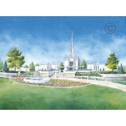 Denver Colorado Temple Painting