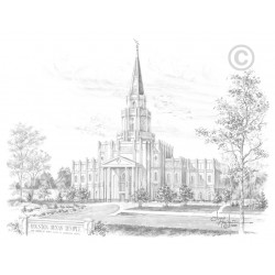 Houston Texas Temple Drawing