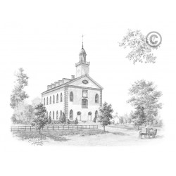Kirtland Temple Drawing