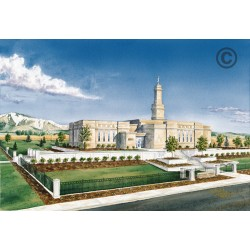Monticello Utah Temple Painting