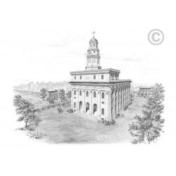 Nauvoo Temple Drawing