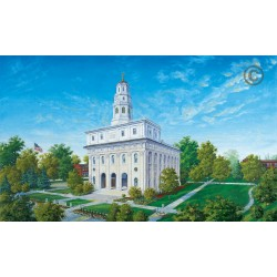 Nauvoo Temple Painting - The Beautiful