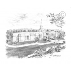 Palmyra New York Temple Drawing