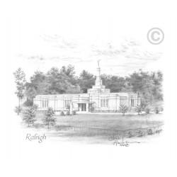 Raleigh North Carolina Temple Drawing