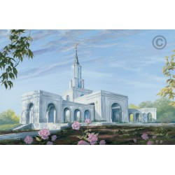 Sacramento California Temple Painting