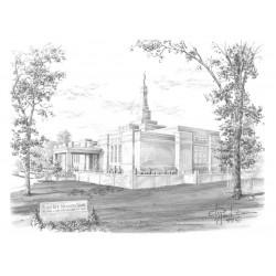 St. Paul Minnesota Temple Drawing
