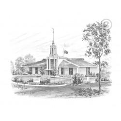 Sydney Australia Temple Drawing