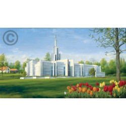 The Hague Netherlands Temple Painting