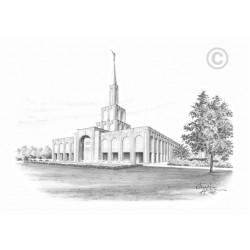 Toronto Ontario Temple Drawing